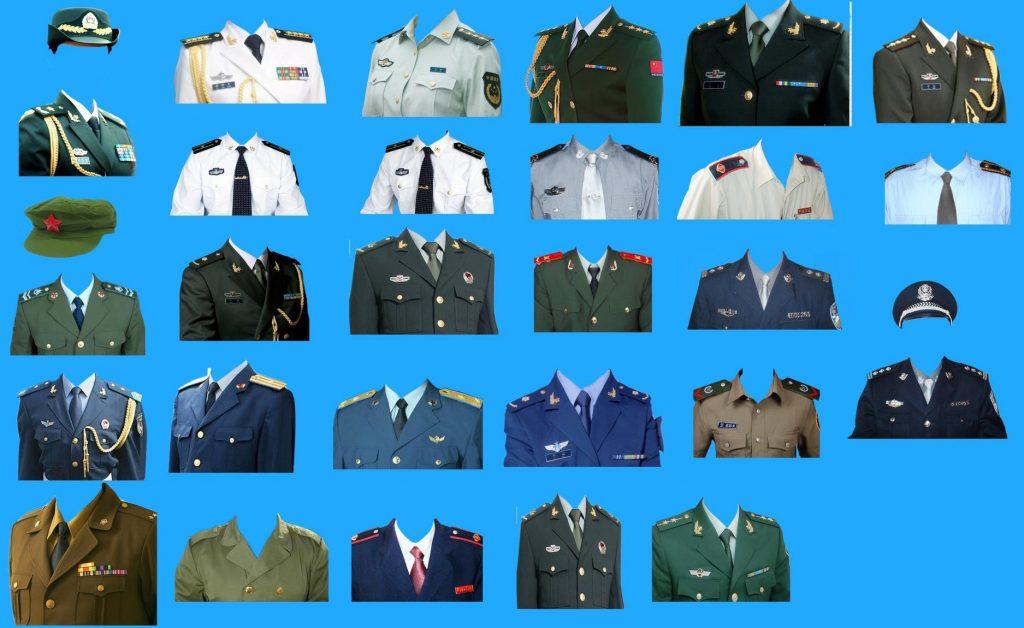 图片[2]-Photoshop素材上百种证件照西装正装PSD模板-蓝米兔博客