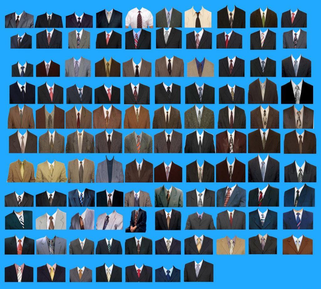 图片[4]-Photoshop素材上百种证件照西装正装PSD模板-蓝米兔博客