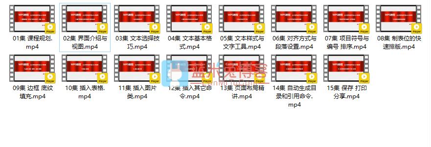 图片[1]-wps基础教程 三小时快速学会word排版-蓝米兔博客