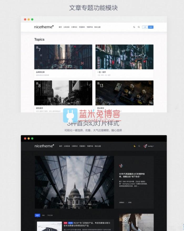 Emlog主题 仿PandaPRO博客文章模板 去除域名限制